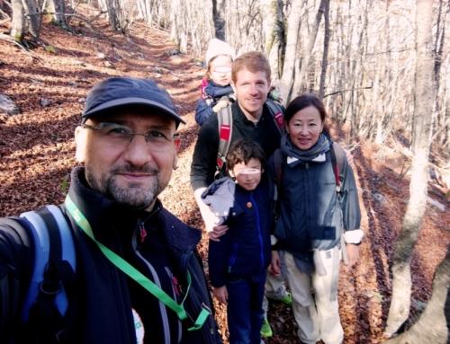 Escursioni nel Pollino con famiglie internazionali
