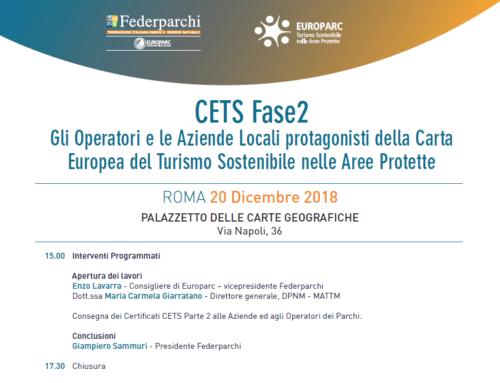 CETS (Carta Europea del Turismo Sostenibile) 2