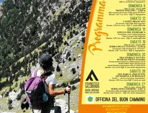 Programma escursioni GIUGNO 2021 #CamminaPollino2021