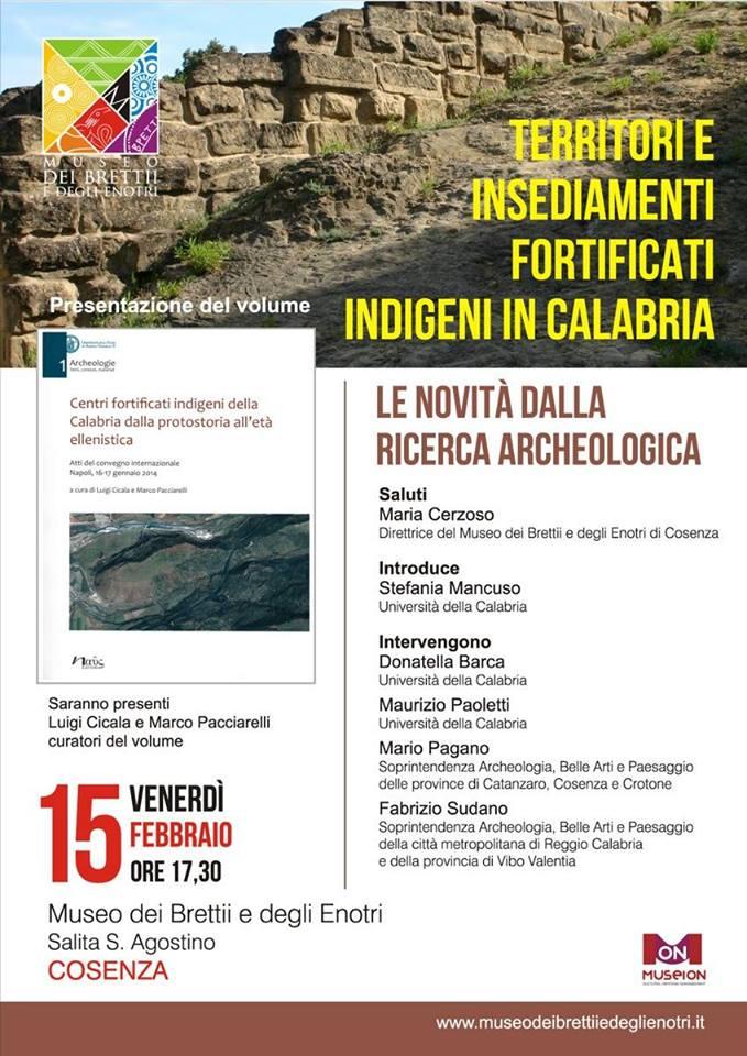 Territori e insediamenti fortificati indigeni in Calabria